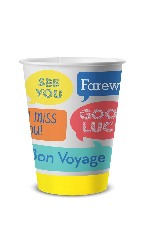 Amscan BonVoyage Cup