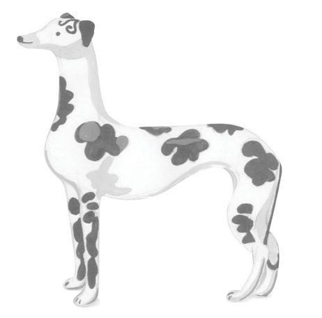 Watercolour Illustration of a Dalmatian
