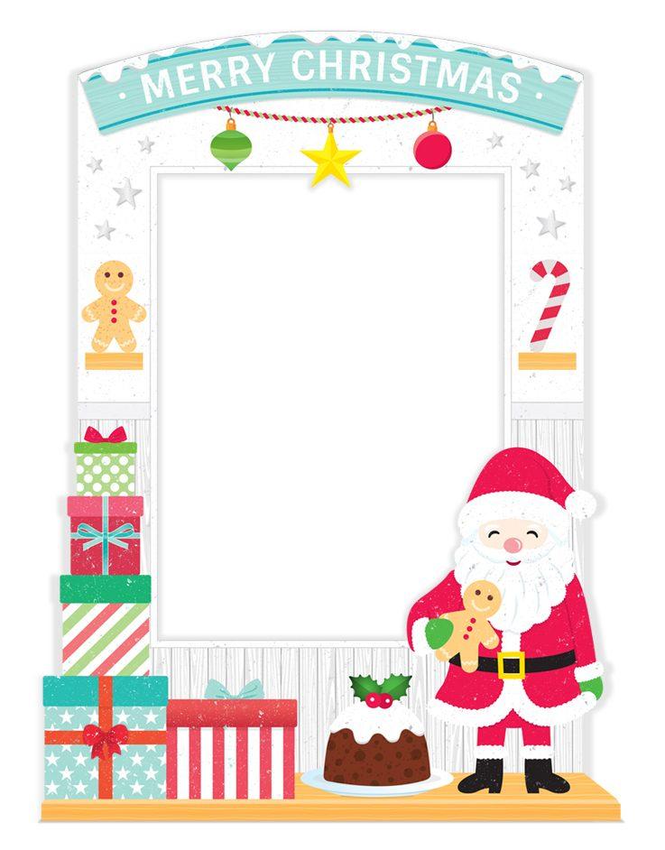 Three Dimensional Christmas Frame